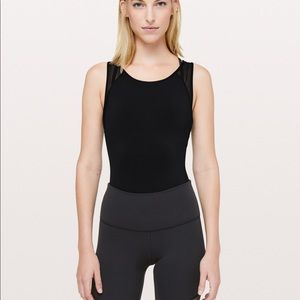 Lululemon Seek the Heat Bodysuit 6 Black